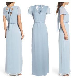WAYF Anna Tie Back Gown Size Medium